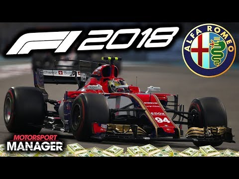 INSANE RACE RESULTS IN DUBAI WTF?! - F1 2018 Alfa Romeo Manager Career Part 19