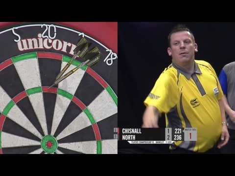 Dave Chisnall v Richard North - 2017 Players Championship 18
