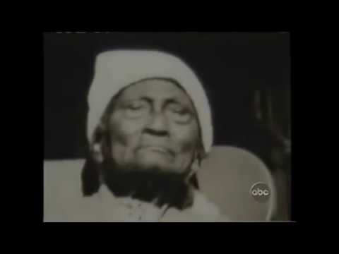 Hear rare interviews with former slaves recorded in the early 1900's