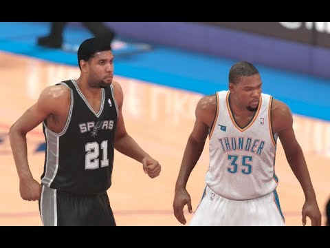 NBA Western Conference Finals: Thunder vs Spurs - Game 4 ...