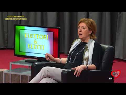 Elettori & Eletti 2017/18 003 Tonia Spina, Candidata sindaco Bisceglie