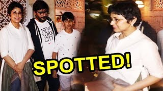 Beautiful Sonali Bendre SPOTTED With Her Family At Bayroute | FWF
