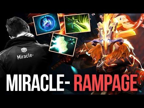 Miracle- RAMPAGE Arcana Origins Juggernaut Style Dota 2