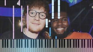 Gambar cover Ed Sheeran ft. Khalid - Beautiful People   How To Play Piano Tutorial + Sheets