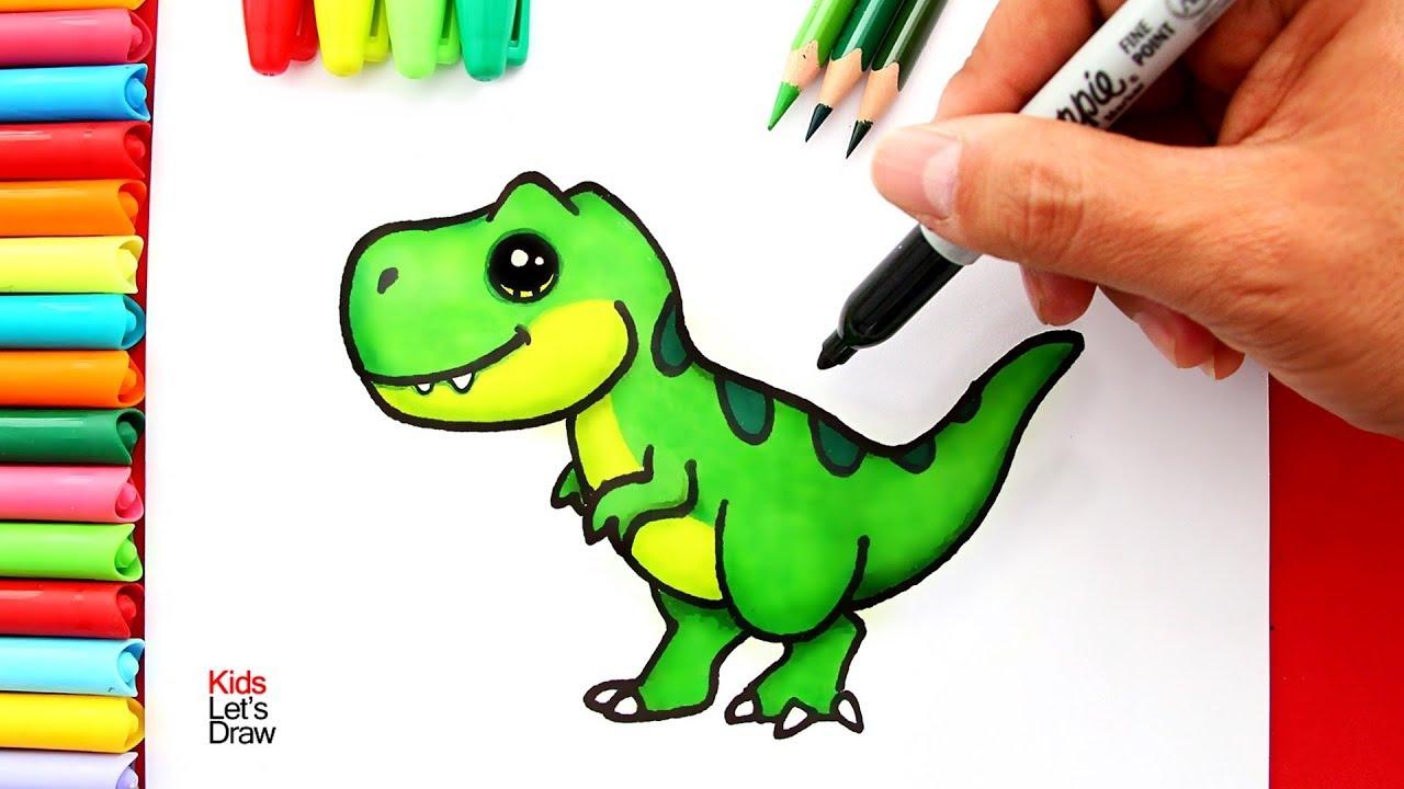Aprende A Dibujar Un Tiranosaurio Rex T Rex Kawaii How To Draw A Cute T Rex Dinosaur Youtube Introduccion a los dinosaurios prácticamente todos los niños del… mamut lanudo el mamut lanudo fue quizás… aprende a dibujar un tiranosaurio rex t rex kawaii how to draw a cute t rex dinosaur