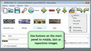 How to add jQuery image slider to your site with WOW Slider