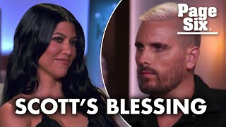 Scott Disick gives Kourtney Kardashian and Travis Barker his blessing | Page Six Celebrity News