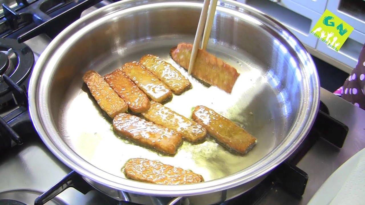 Receta tempe con verduras cocina macrobi tica por raquel for Cocina macrobiotica