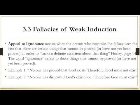 33 Fallacies Of Weak Induction Youtube