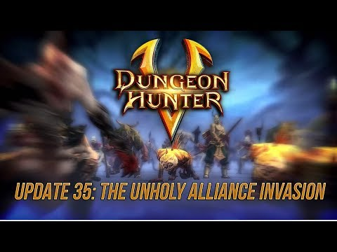 Dungeon Hunter Update 35 Trailer