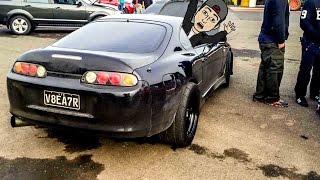 Huge Power Toyota Supra In Australia