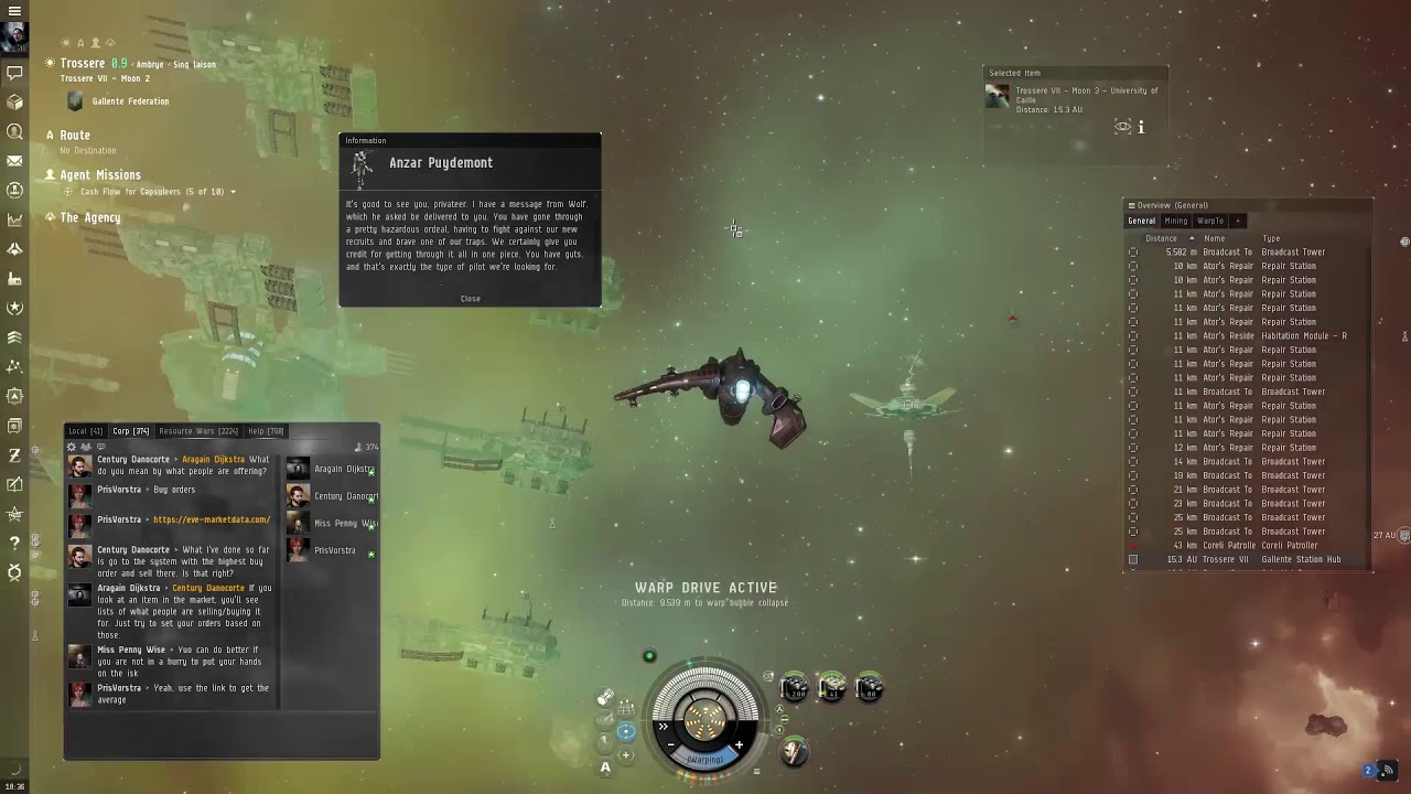 eve online cash flow for capsuleers 5 of 10 youtube