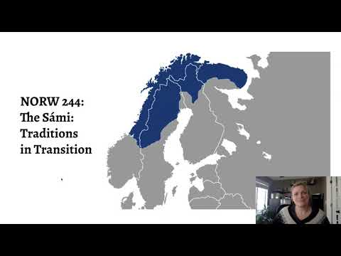 NORW 244: The Sami: Traditions in Transition, Spring 2021
