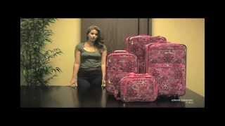Rockland F108 Designer 4 Pc Luggage Set Thumbnail