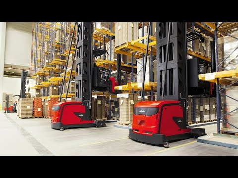 Linde Material Handling - Very Narrow Aisle - Man-Up - K-Truck - Product Presentation