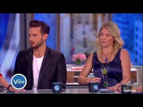 Nico Tortorella, Sara Haines Discuss Gender, Sexual Fluidity On 'The View'  The View