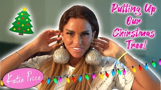 KATIE PRICE: PUTTING UP OUR CHRISTMAS TREE!