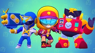 Brawl Stars All New Skins Unlock SURGE & MECHA PALADIN SURGE (Brawl Stars SUMMER OF MONSTERS )