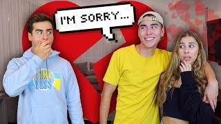 Cheating Prank With His Girlfriend!!! (FAIL)