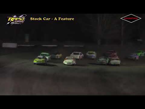 Stock Car Feature - Rapid Speedway - 5/4/18