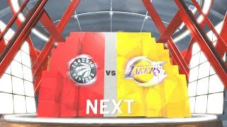 NBA 2K19 Toronto Raptors Vs Los Angeles Lakers (Anthony Davis)