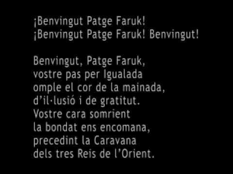 Himne del Patge Faruk d'Igualada.