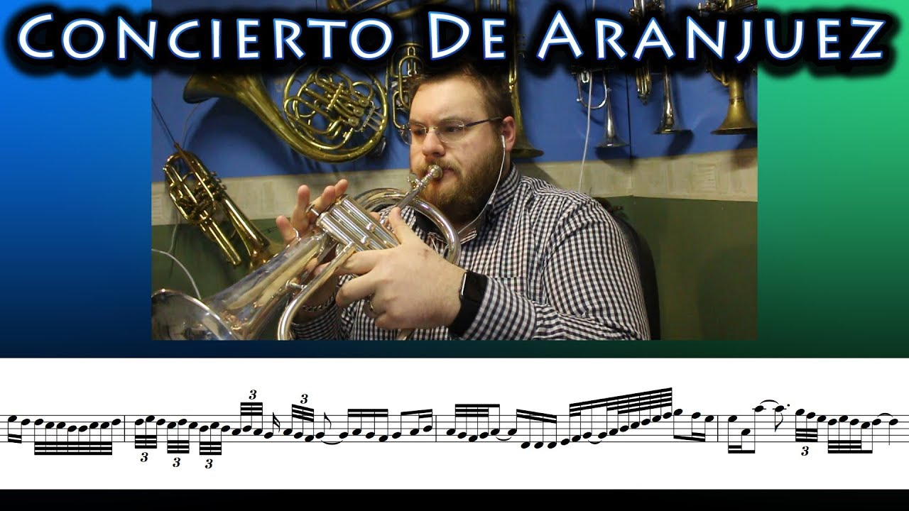 concierto de aranjuez flugelhorn solo from brassed off