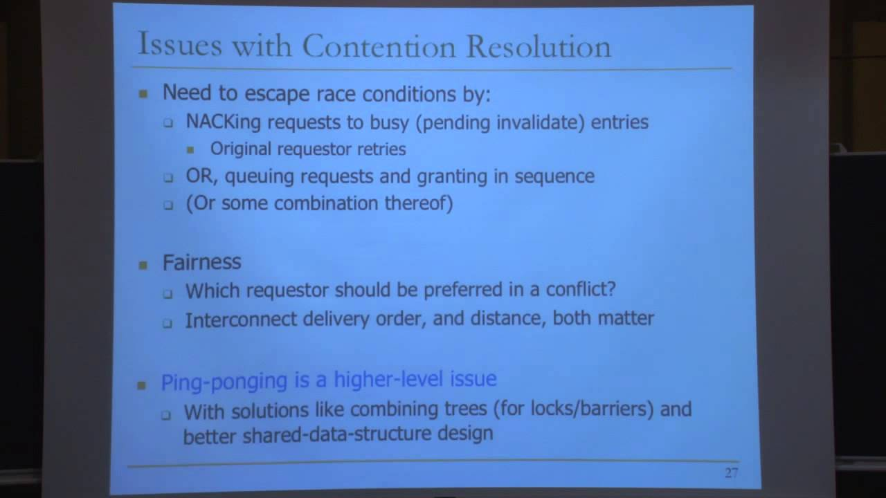 Lecture 32 Interconnects Carnegie Mellon Computer