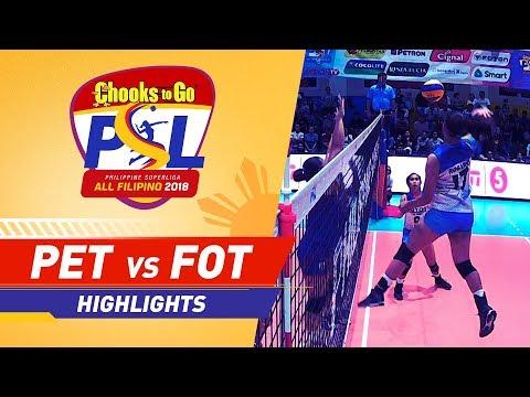 Highlights: Petron vs. Foton | PSL All-Filipino Conference 2018
