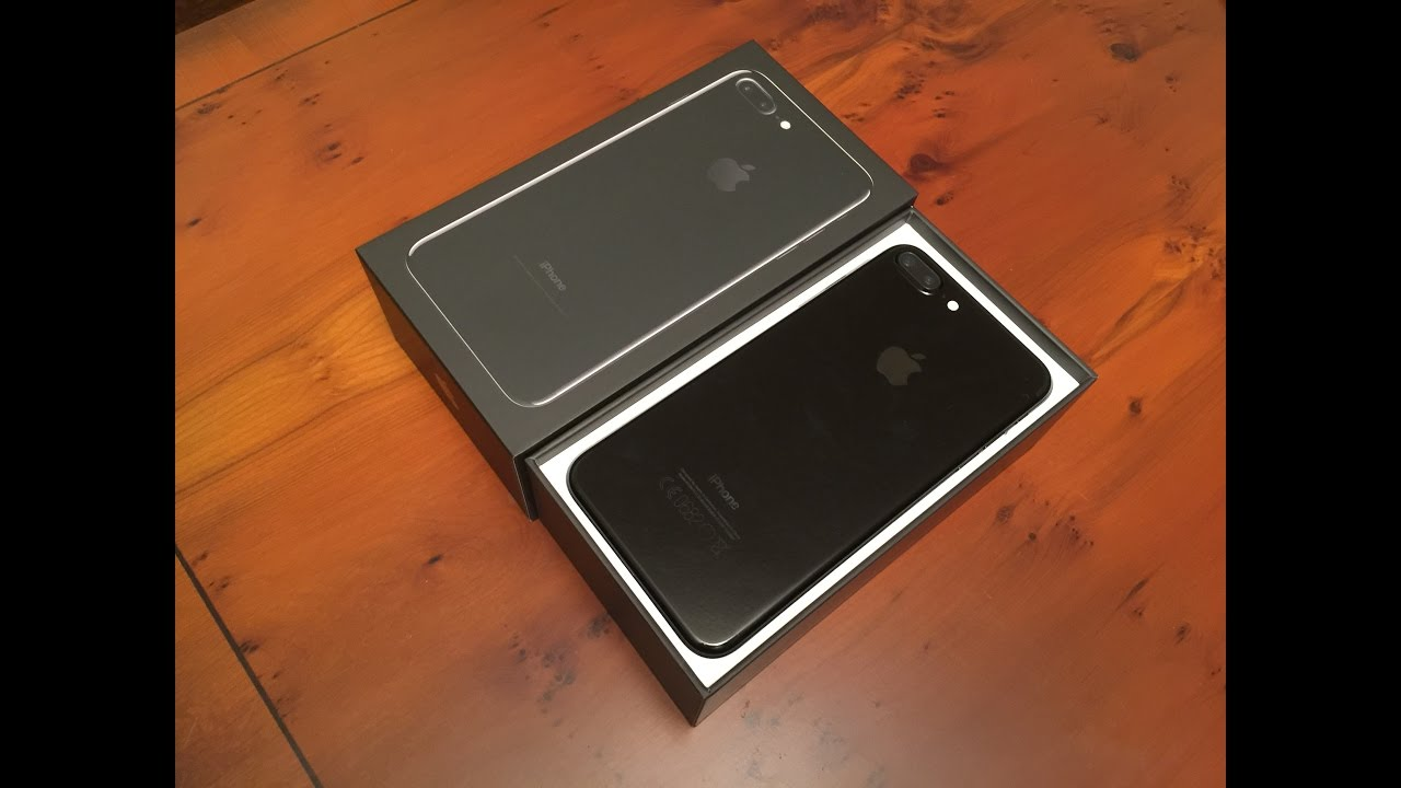 Unboxing Iphone 7 Plus Jet Black Youtube
