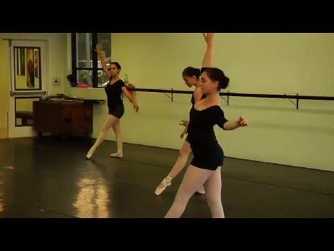 Cinderella Rehearsal. Ballet