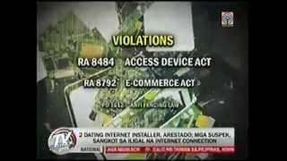 TVPatrol - 2 Globe Wimax Hacker Tiklo sa Buybust Operation [May-17-2013]