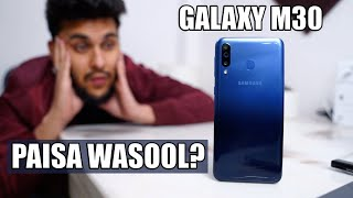 SAMSUNG GALAXY M3O REVIEW IN HINDI - Ye Better Hai..!