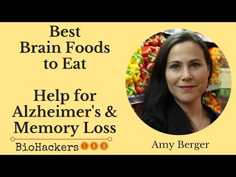 Amy Berger: Best Foods to Prevent Alzheimer's Disease (Brain