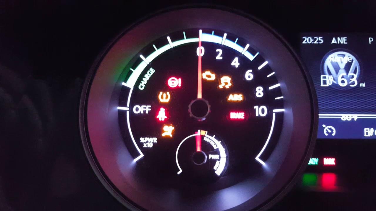 Volkswagen Warning Lights Youtube
