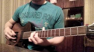 Rammstein - Feuer und wasser. The best guitar cover ever