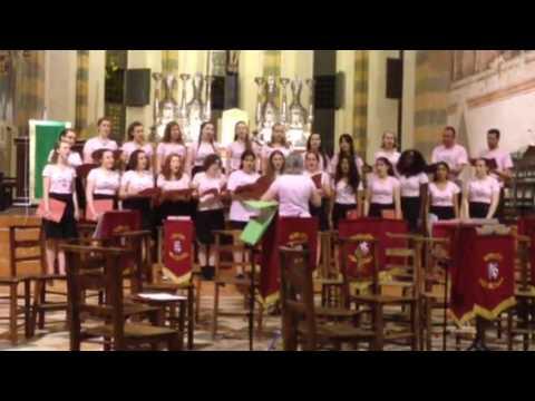 Norwich High School Music Tour - Verona Virgine Madre