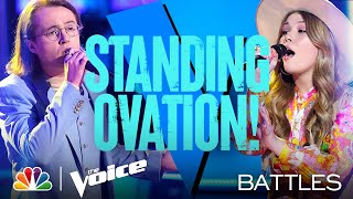 "Rachel Mac vs. Bradley Sinclair - Elton John's ""Your Song"" - The Voice Battles 2021"