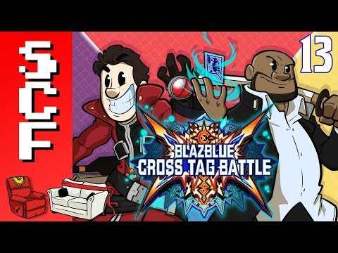 "BlazBlue: Cross Tag Battle (Part 13) - ""Do I Look Fat?"" - Super Couch Fighters!"