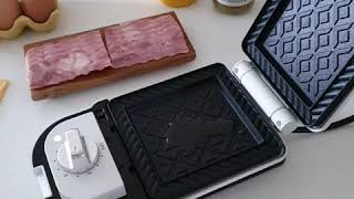 [ 요리 ]베이컨치즈샌드위치 만들기 #베이컨샌드위치 #…