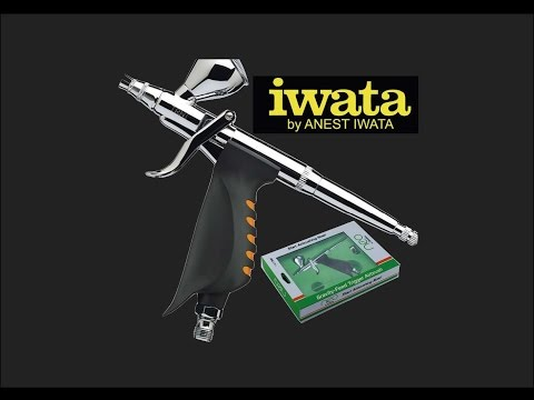 Iwata TRN1 Trigger Airbrush Scale Model Tool Review