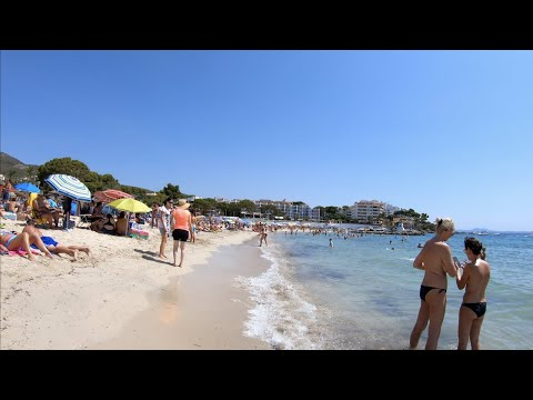 Palmanova Mallorca (Majorca) beach walk