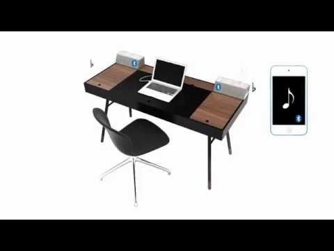 BoConcept Cupertino 3D Work Desk - Home Office Furniture Sydney Australia