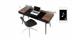 BoConcept Cupertino 3D Work Desk - Home Office Furniture Sydney Australia