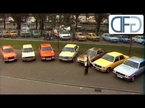 IAA 1977 - Audi 100 Avant | Porsche 928 | Mercedes 250T | Citroën CX 2400 GTI (3/3)