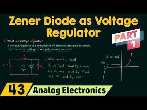 Zener Diode as Voltage Regulator (Part 1)