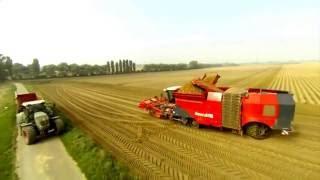 Современное сельское хозяйство. Как убирать урожай