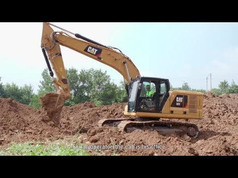 Next Generation Cat® Excavator - Comfort And Safety Features