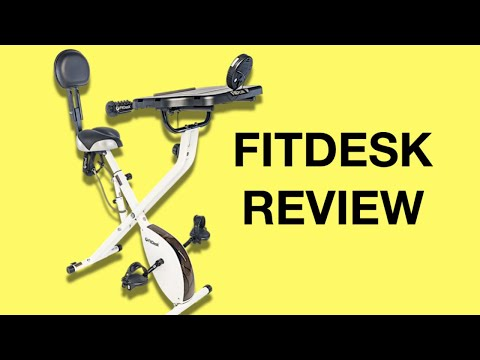 FitDesk Review (Fit Desk 3.0 Bicycle Exercise Desk)