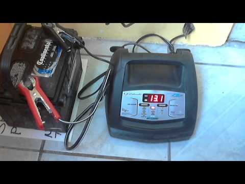 Cargador de bater as para auto 3 5 20 y 75 amperes youtube - Cargador de baterias ...
